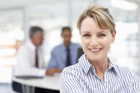 woman choosing the right hearing aid